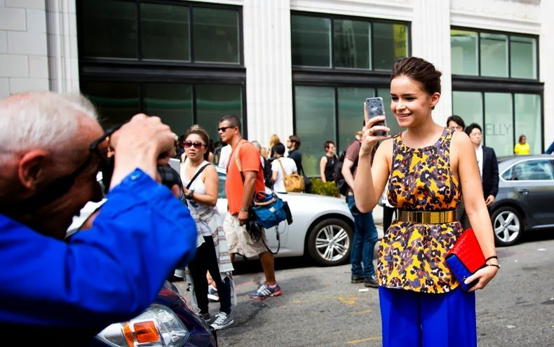 NYFW-New_York_Fashion_Week_Spring_Summer_2014-Street_Style-Say_Cheese-Collage_Vintage-MIroslava_Duma-Bill_ Smile :)