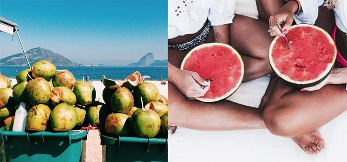 tumblr_summer_inspiration_watermelon_coconut_water Top 10 things to do in Summer