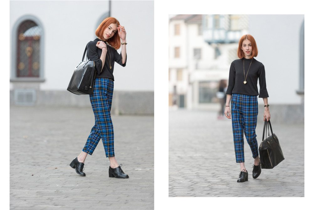 Collage-2-1024x669 Outfit: Classic Plaid Trousers