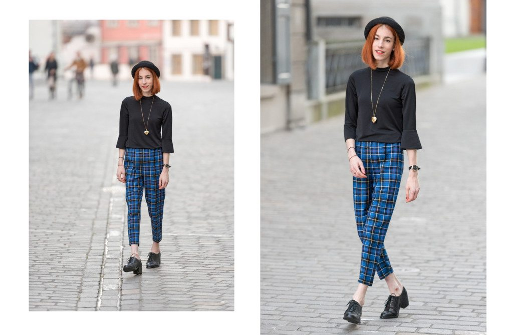 Collage1-1024x669 Outfit: Classic Plaid Trousers